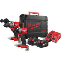MILWAUKEE COMBISET M18 FPP2A2-502X FUEL POWERPACK IN HD BOX