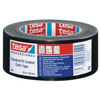 TESA DUCT TAPE ZWART PROFESSIONAL 50 MTR X 50 MM 04688-00029-00